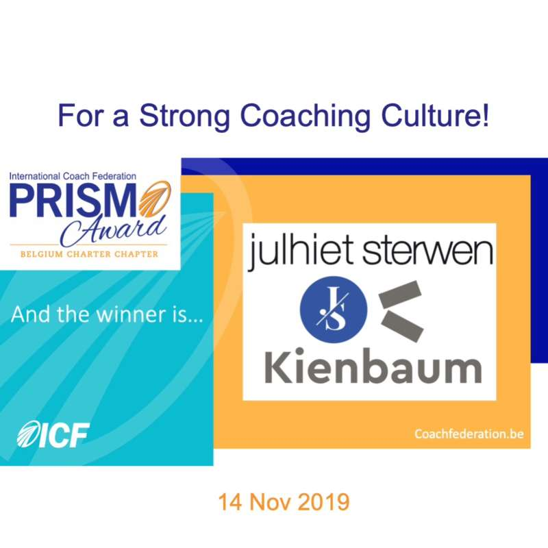 ICF Belgium Prism Award 2019 - And the winner is...