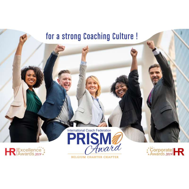 ICF Belgium Prism Award 2019 - For a strong coaching culture in organizations