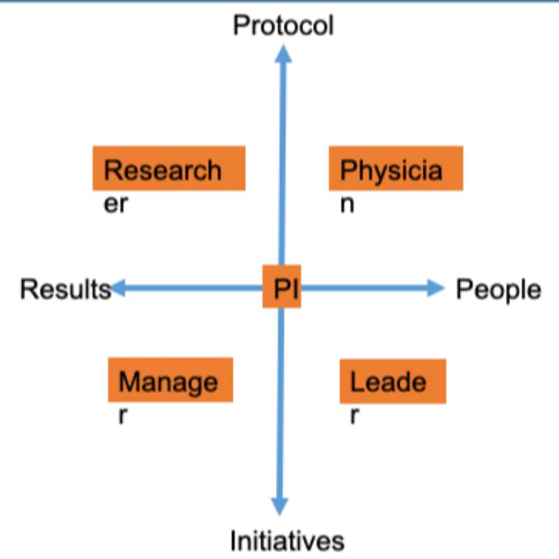 A New Model to Support Leadership Skills  of Principal Investigators