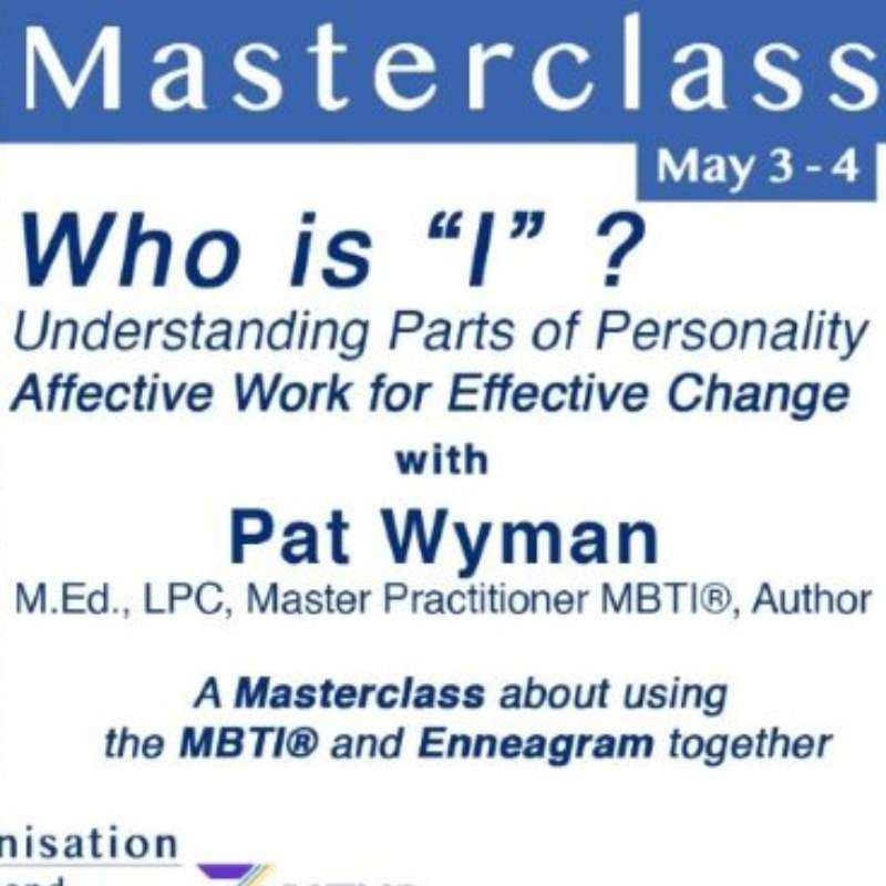 "Who is ""I"" ? : Understanding Parts of Personality"