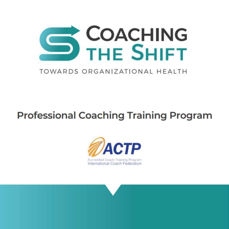 Professional Coach Training Program - Start 28-10-2020